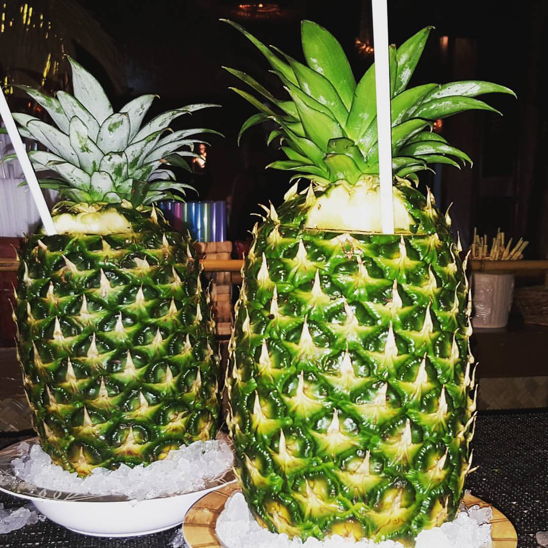 Drinks in a Pineapple