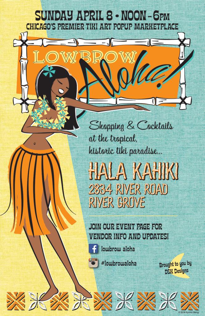 Lowbrow Aloha Tiki Art Show!