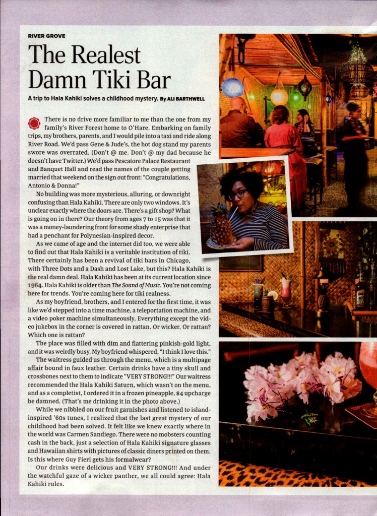 Tiki Chicago Magazine